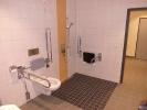 Behindertengerechte Ausführung Dusche WC