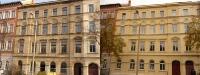 Fassadensanierung 120-jähriges Haus, Bachstraße, ABG