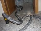 Technische Trocknung nach Hochwasserschaden