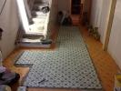 Verlegung von Zementmosaikplatten